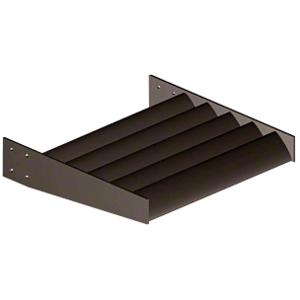 """CRL AX08DU Dark Bronze 8"""" Airfoil Blade - 146"""" Length"""