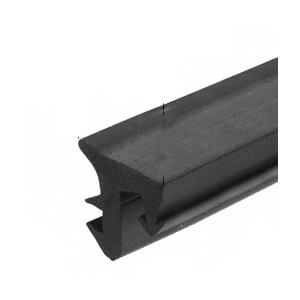 """CRL-U.S. Aluminum NP299 Black 1/2"""" EPDM Universal Storefront Gasket - 500'"""
