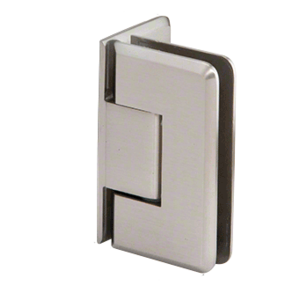 CRL P1N044BN Brushed Nickel Pinnacle 044 Series Wall Mount Offset Back Plate Hinge