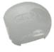 "CRL R72CRKAGY Agate Gray AWS 3"" Diameter Round 90 Degree 72"" Corner Post Kit"