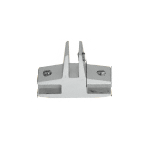 """CRL E738A Chrome 3-Way 90 Degree 'T' Standard Connector for 3/8"""" Glass"""