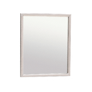 """16"""" x 20"""" Stainless Steel Theft-Proof Mirror Frame"""