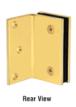 CRL GE90SSB Satin Brass Geneva Series Wall Mount Bracket