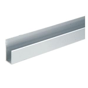 """Satin Anodized Aluminum Deep Nose 3/8"""" J-Channel"""