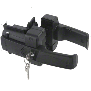 Crl Zl2bl Black Z Lokk Magnetic Gate Lock