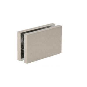 """CRL CABS84BN Brushed Nickel 180 with Square Style Clamp - 84"""""""