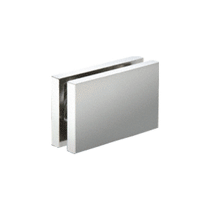 """CRL CABS84CH Polished Chrome 180 with Square Style Clamp - 84"""""""