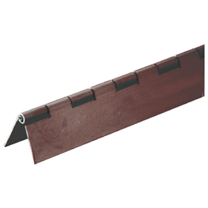 "CRL 6D665DU Dark Bronze 3/4"" Aluminum Piano Hinge - 6' 72"" Stock Length"