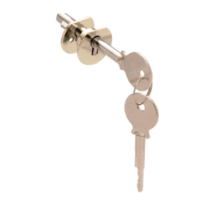CRL D802BR Brass Randomly Keyed Universal Plunger Lock