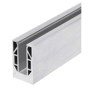 "CRL 8B20D 8B Series Mill Aluminum 240"" Square Base Shoe Drilled"