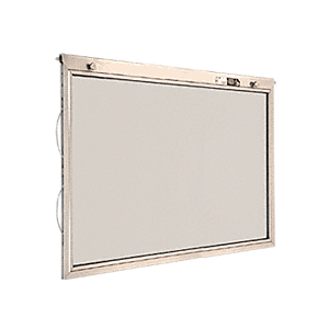 "CRL BAHS2119 21-3/8"" x 19-1/2"" Half-Sash Units for Competitive BACP284/BACP288 Plaza Units"