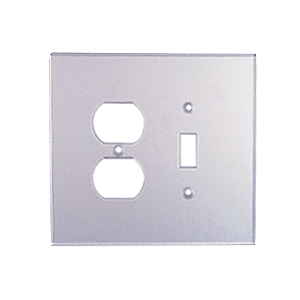 CRL PMP204 Clear Duplex Toggle Combo Acrylic Mirror Plate