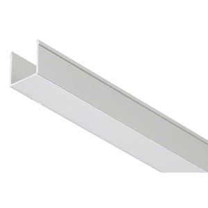 "CRL EHF360AEXT 36"" Satin Anodized Snap-in-Filler Insert for EZ-Adjust Header Kit"