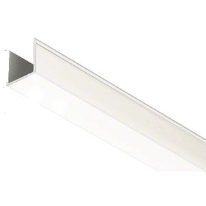 """CRL EHF360WEXT 36"""" White Snap-in-Filler Insert for EZ-Adjust Header Kit"""