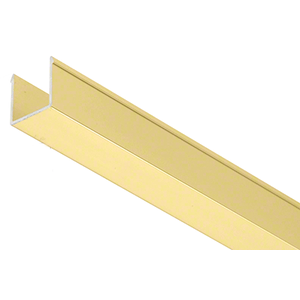 "36"" Satin Brass Snap-in-Filler Insert for EZ-Adjust Header Kit"
