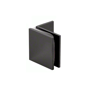 Matte Black Fixed Panel Square Clamp With Small Leg