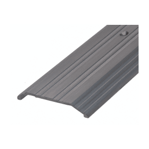 "CRL TH014D72 Dark Bronze 4"" x 1/2"" Saddle Aluminum Threshold - 73"" Long"