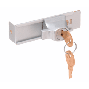 CRL TDK7AKA Aluminum Stick-On Showcase Lock - Keyed Alike