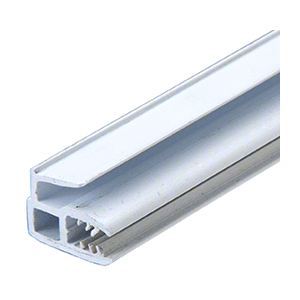 CRL EX1330 White Vinyl Meeting Rail
