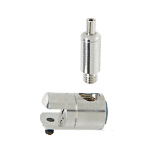 """CRL Y01CR Single Sided Connector with Tensioner for 3/8"""" Glass"""
