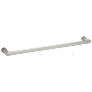 """CRL 0R18CH 18"""" Chrome Single-Sided Oval/Round Towel Bar"""
