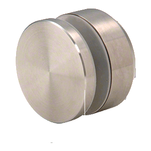 """CRL ADJCAP2BS Brushed Stainless Adjustable Height Standoff Cap for 2"""" Base"""