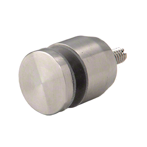 "CRL ADJCAP34BS Brushed Stainless Adjustable Height Standoff Cap for 3/4"" Base"