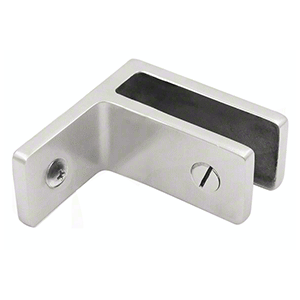 CRL GBCWMBS Brushed Stainless Wall Mount Glass Bracing Clamp