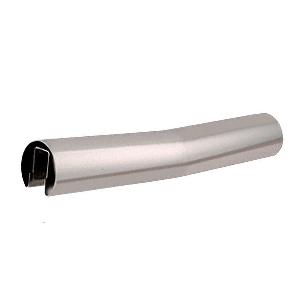 "Polished Stainless 4 Degree Lower Incline Corner for 2"" Diameter Railing"