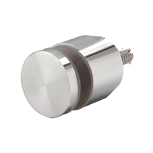 "CRL ADJCAP34PS Polished Stainless Adjustable Height Standoff Cap for 3/4"" Base"