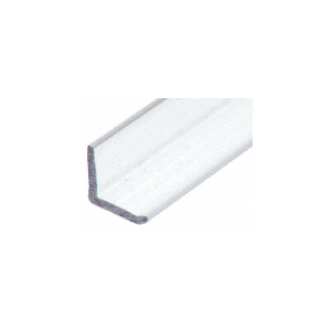 "CRL P12LJT2 'L' 1/2"" x 1/2"" Clear Jamb with Pre-Applied Tape"