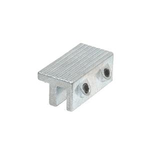 CRL S4034 Aluminum Tamper-Resistant Window Lock Dual Hex Screws