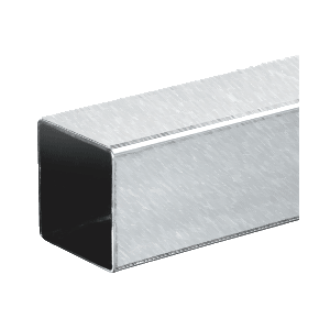 "CRL HRS15BS Brushed Stainless 1-1/2"" Square Tubing - 236"""