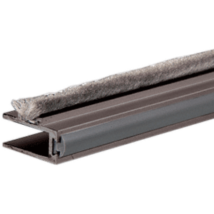 Duranodic Bronze Deep Channel Dust Proof Rail with Bumper