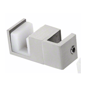 CRL SERUG2BS Brushed Stainless Steel Replacement Door Guide for Fixed Panel Attachment