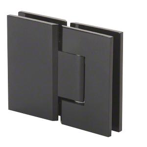 CRL V1E180MBL Matte Black Vienna 180 Series Glass-to-Glass Hinge