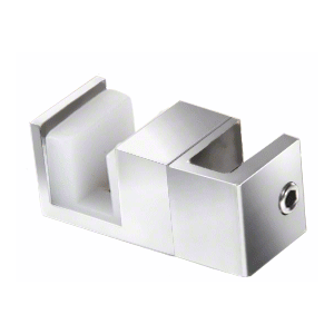 CRL SERUG2PS Polished Stainless Steel Replacement Door Guide for Fixed Panel Attachment