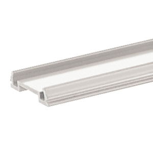 "CRL BRF241W Sky White Standard Bottom Rail Filler 241"" Long"