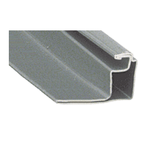 """CRL WSFS34GRY Gray 3/4"""" Roll Formed Aluminum Standoff Screen Frame - 144"""""""