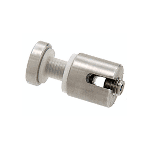 CRL Y034CR Drill-Thru Connector for Vertical Panels