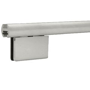 """CRL EHK98AB Brushed Anodized 95"""" EZ-Adjust Shower Door Header Kit"""