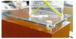 "CRL S0B34CSSSB Custom Length Sandblasted Stainless Steel 3/4"" Diameter Standoff Base"