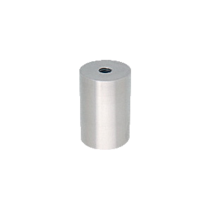 """Brushed Stainless Standoff Base 1-1/2"""" Diameter by 2"""" in Length"""