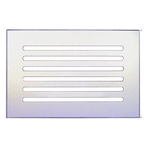 "CRL FMG1280 Clear Flat Acrylic 12"" x 8"" Mirror Grille"