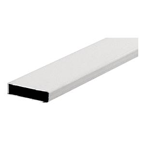 "CRL 36004W White 3/16"" x 3/4"" Muntin Bar 152"" Stock Length"