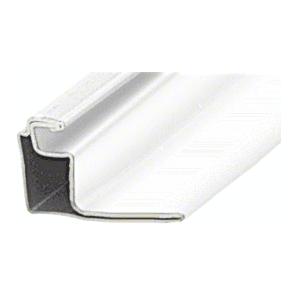 "CRL WSFS34W White 3/4"" Roll Formed Aluminum Standoff Screen Frame - 144"""