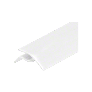 White Snap-In Vinyl Glazing Bead