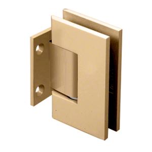 Satin Brass Geneva 074 Series Wall Mount Short Back Plate Hinge