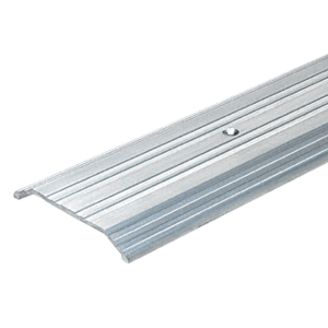 "CRL S19ACL Aluminum Custom Length 9"" Wide Saddle Threshold 1/2"" High"