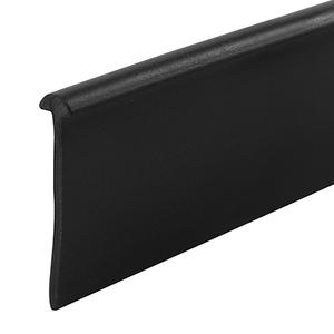 Black Type Shower Door Bottom 'T' Seal and Wipe
